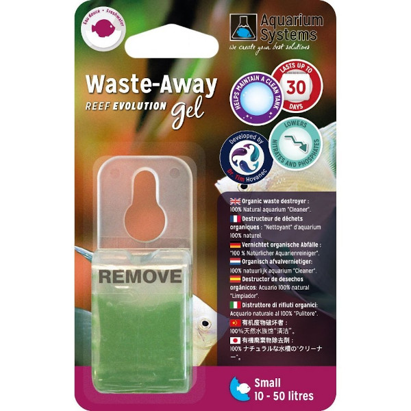 AQUARIUM SYSTEMS Waste-Away Gel S - Doce (1un)