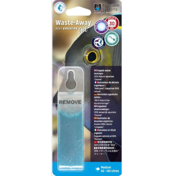 AQUARIUM SYSTEMS Waste-Away Gel M - Marinho (1un)
