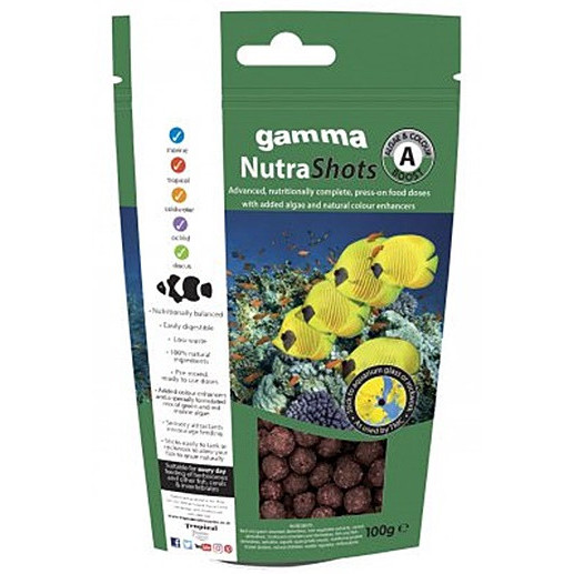 GAMMA NutraShots Algae & Colour Boost (100g)