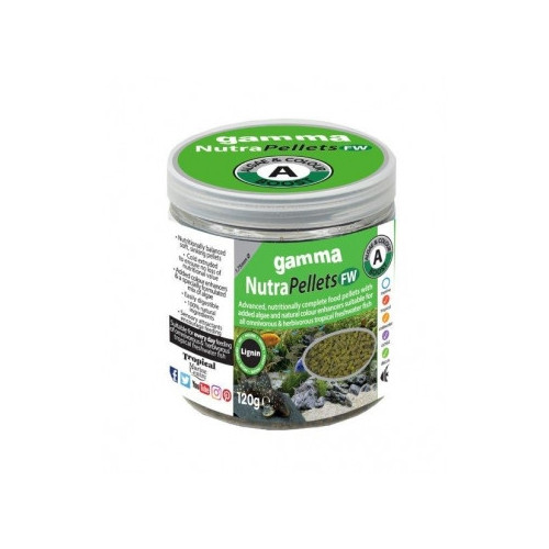 GAMMA NutraPellets FW Algae & Colour (120g)